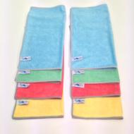 Flipper Microvezeldoeken Nivo 8 stuks Ass. Kleuren 40 x 40 cm