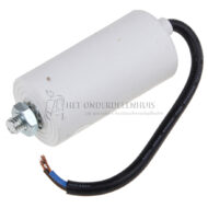 CONDENSATOR ELECTROL 12 µF 450VMET DRAAD -