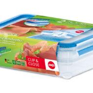 EMSA - CLIP & CLOSE BEWAARDOOS RECHTHOEKIG. 2X0,6L